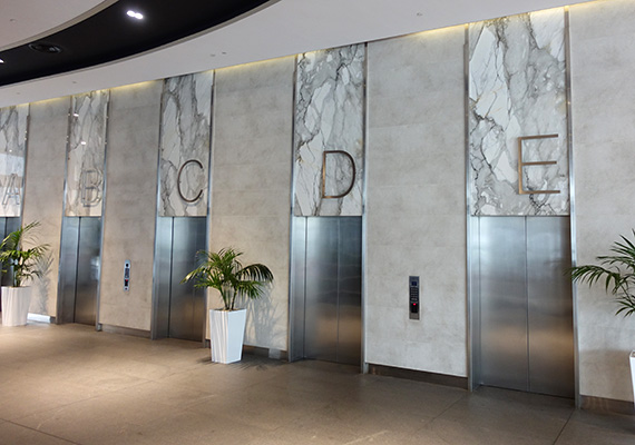 The lifts at 60 station street Parramatta to take you to Better Counselling